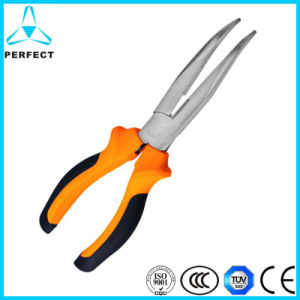 "Stain Chrome Plated 160mm (6"") Curved Nose Plier pictures & photos"
