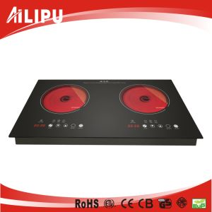 Built-in 2 Burners Infrared Cooker for Family Kitchen used Sm-Dic09b-2 pictures & photos
