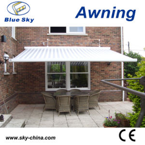 Steel Structure Retractable Outdoor Balcony Awning B4100 pictures & photos