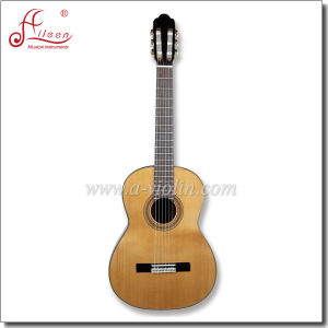 "[Winzz] 39"" Solid Cedar Top Concert Classical Guitar pictures & photos"