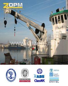Marine Telescopic Boom Ship Deck Crane