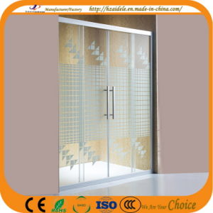 2 Side Stripe Glass Sliding Door (ADL-8A4) pictures & photos