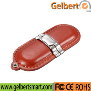 High Quality Wholesale Leather USB 2.0 Flash Drive pictures & photos