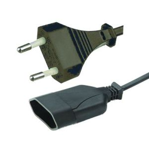 VDE European 2-Pin Power Cord with Connector pictures & photos