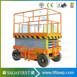 Hot Sales Trailing Mobile Scissor Lift 4m- 20m Hydraulic Scissor Lift with Ce pictures & photos