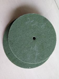 Non Woven Wire Drawing Wheel pictures & photos