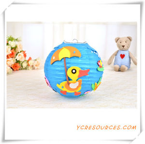2015 Promotional Gift Children DIY Animal Paper Lantern Party Favor Hall Decoration Hanging Cartoon DIY Paper Lantern Best Sell (TY11014) pictures & photos