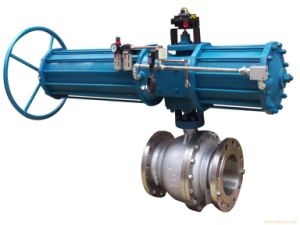High Performance China Electric Flanged Ball Valve pictures & photos