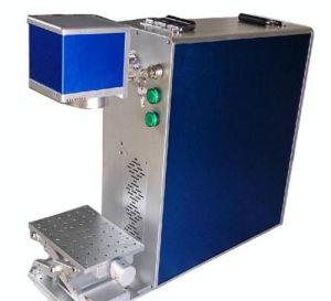 Mini Portable 20W Fiber Laser Marking Machine/Mini Metal Marking Machine pictures & photos