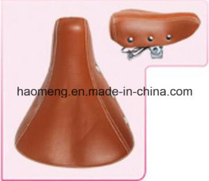 Spring Leather Bicycle Saddle pictures & photos