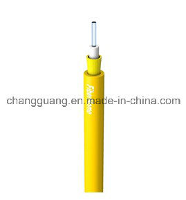 High Quality Indoor 2-24 Core GJFJV Optic Cable Price LSZH Duplex Fiber Optical Cable pictures & photos