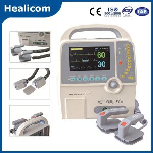 Hc-8000d Medical Portable Biphasic Defibrillator with Ce ISO pictures & photos