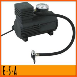 2015 Promotional Gift Car Air Pump, Cheap Small Car Tyre Air Pump, Hot Sale Portable Car Mini Air Compressor Powerful Pump T26b028 pictures & photos