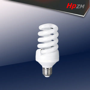 Hpzm E27/B22 Full Spiral Energy Saving Lamp pictures & photos