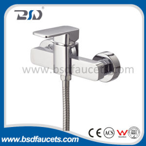 Single Handle Brass Bathroom Faucet Chrome Shower Mixer Bathtub Faucets pictures & photos