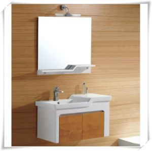 Commercial Wenge Bathroom Vanity with Mirror pictures & photos