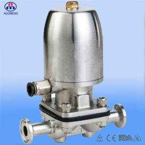 Sanitary Stainless Steel Pneumatic Diaphragm Valve with CE ISO 3A Certification pictures & photos