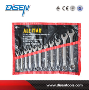Raisd Panle Combinationr Wrench Set in Plastic Bag pictures & photos