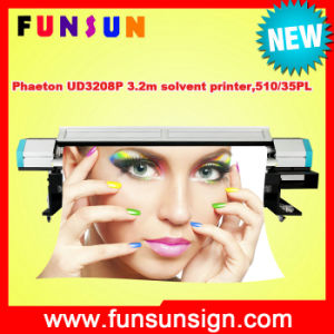 New Model Phaeton Ud3208p 3.2m Solvent Printer for Banner Printing (10FT. flex banner printing, 510/35pl heads, CMYK 4 colors) pictures & photos
