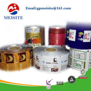 Custom Roll up Film Printed Packaging Stretch Film for Automatic Packaging Machine