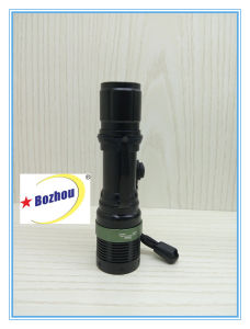 Zoom Flash Light Long Range High Lumen Rechargeable Torch pictures & photos