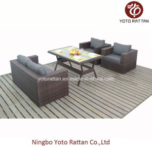 New Set Outdoor Rattan Dining Set with Table (1207) pictures & photos