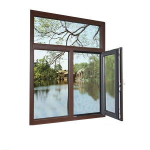 Thermal Insulation Casement Aluminum Glass Window pictures & photos