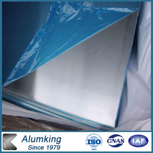 3.8mm Thickness H14 Aluminum Plate with PVC Surface pictures & photos