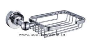 Bathroom Zinc Chrome Metal Soap Basket