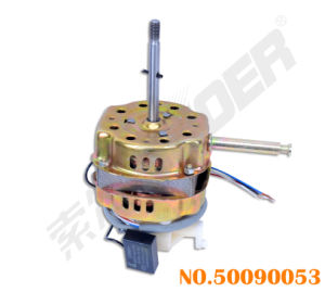 Suoer Factory Price Desk Fan Motor Small Motor for Desk Fan with Capacitor (50090053-Motor-Desk Fan-16 Thick with Capacitor(Aluminum Wire)) pictures & photos