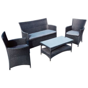 Garden Outdoor Furniture Classical Rattan Wicker Sofa Set