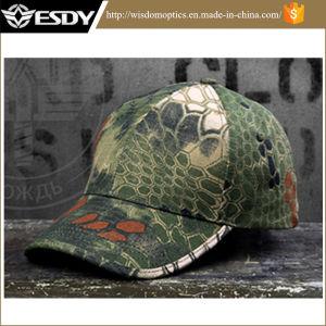 Tactical Rattlesnake Combat Solider Baseball Cap Camping Hiking Hats pictures & photos