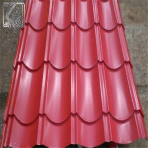 0.32mm Thickness Prepainted Color Coated Corrugated Steel Sheet pictures & photos