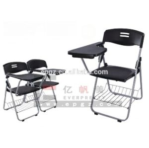 Plastic Seat School Training Chair with Tablet & Plastic Arm Chair pictures & photos