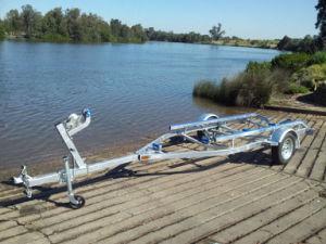 Hot Galvanizing Boat Trailer Cbt-J48