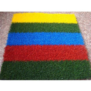 Playground Flooring Artificial Grass Kindergarten Artificial Floor Mats (XYH-13140-4) pictures & photos