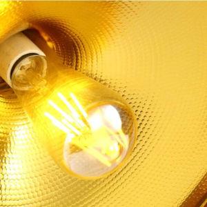 Simple Antique Matt Black Single-Head Aluminum Pendant Lamp pictures & photos