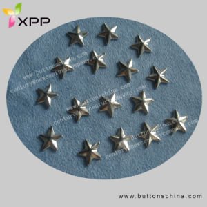 Star Metal Hotfix Stud Nickle Color pictures & photos