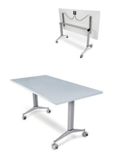 High Grade Office Furniture Conference Folding Table (HF-LS711AB) pictures & photos