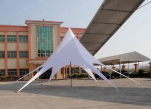 China Star Shade Tent with Customized Color and Printing Tent pictures & photos