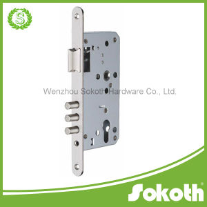 7255C-3 Three Bolt Mortise Lock Body pictures & photos