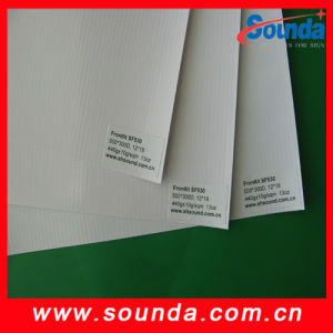 Hot! ! ! PVC Frontilit Flex Banner Made in Shanghai Factory pictures & photos