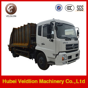 Dongfeng 15 Cubic/15m3/15cbm Garbage Truck and Waste Trailer pictures & photos