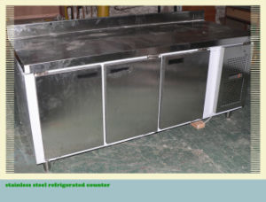 Stainless Steel Refrigerated Counter with New Technology pictures & photos
