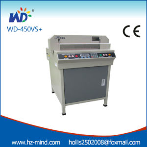 Numerical-Control 450mm Paper Cutter Machine (WD-450VS+) pictures & photos