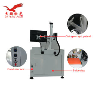 10W 20W 30W 50W Fiber Laser Marking Machine Factory Price pictures & photos