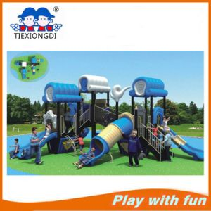 Attractive Plastic Outdoor Playground Slide Equipment pictures & photos