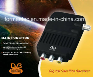 Digital Satellite Receiver DVB-S Mini Stick with Small Infrared Receiver pictures & photos