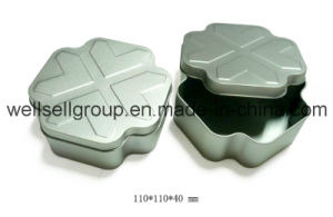 Cross-Shaped Custom Tin Box for Jewellery/Food/Gift/Chocolate/Tea/Candy pictures & photos