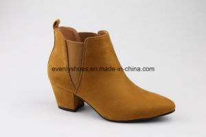 Fabric Upper Women High Heel Boots for Winter pictures & photos